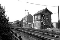 The New Signal Box Ashtead Station 1930