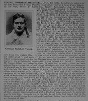 Young N M Lt 1st Royal Scots Obit De Ruvignys Roll Of Honour Vol 1