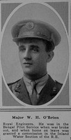 O'Brien W H Major Royal Engineers The Sphere 10th Mar 1917