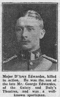 Edwardes G Da Major 1st Dragoons The Graphic 19th Aug 1915