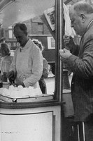 Buying Eels In Petticoat Lane London 1950