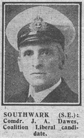 Dawes J A Comm Royal Navy The Graphic 11th Dec 1918