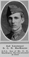 MacBrayne D C H 2nd Lt RFC The Sphere 15th Dec 1917