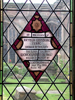 Isaac A W 2nd Lt 1st Worcestershire Regiment Memorial Window Worcester Cathedral