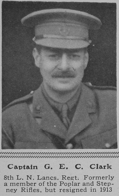UK Photo Archive: C &emdash; Clark G E C Captain 8th Loyal North Lancs Regt The Sphere 26th Feb 1916