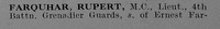 Farquhar R Lt MC 4th Grenadier Guards Obit Part 1 De Ruvignys Roll Of Honour Vol 5