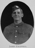 Caldwell J Sergt DCM 8609 1st Highland Light Infantry Royal High School Of Edinburgh Roll Of Honour 1914-1918