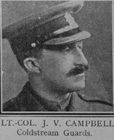 Campbell J V Lt Col VC Coldstream Guards The Great War Vol 10