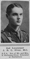 Olver J D C 2nd Lt MC RFA The Sphere 11th Aug 1917