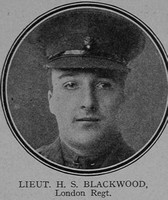 Blackwood H S Lt 9th London Regiment (Queen Victoria's Rifles) The Great War Vol 11