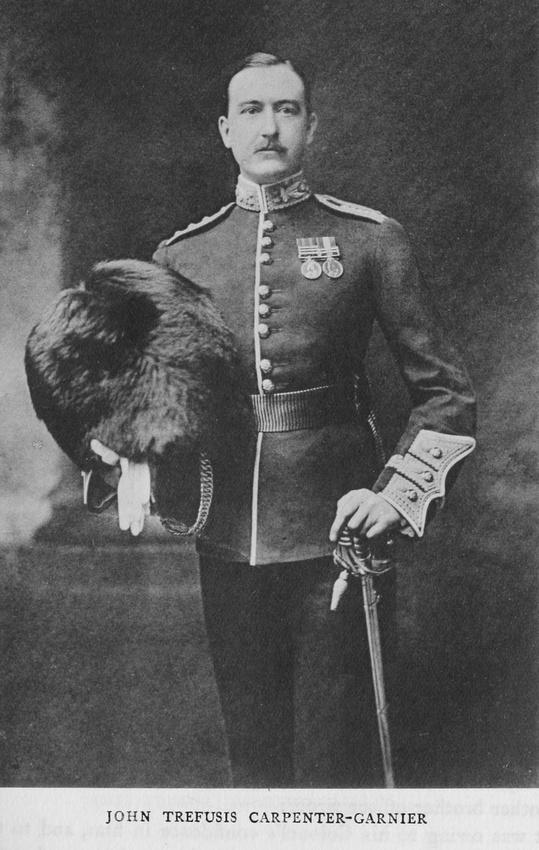 UK Photo Archive: Harrow Memorials Of The Great War Vol 1 1914-1918 Vol 1 Portraits &emdash; Carpenter-Garnier J T Major Scots Guards
