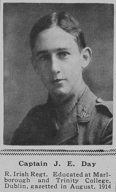 UK Photo Archive: D &emdash; Day J E Captain 6th R Irish Regt The Sphere 12th May 1917