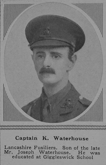 UK Photo Archive: W &emdash; Waterhouse K Captain 5th Lancashire Fusiliers The Sphere 17th Mar 1917