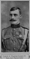 Martin-Leake A Lt VC Royal Army Medical Corps The Illustated War News 24th Feb 1915