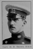 Barrington-Brown H Captain DSO Leicestershire Regiment