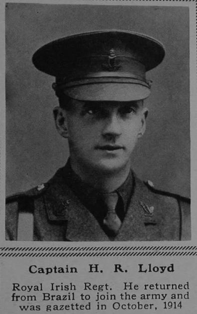 UK Photo Archive: L &emdash; Lloyd H R Captain 6th Royal Irish Regiment The Sphere 9th Dec 1916
