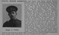 Young R A 2nd Lt 2nd Royal Munster Fusiliers Obit De Ruvignys Roll Of Honour Vol 1