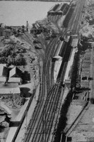 An Aerial View Of Craven Arms Station Shropshire Looking North c.1955