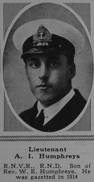 UK Photo Archive: H &emdash; Humphreys A I Lt Howe Bn. R.N. Div. Royal Naval Volunteer Reserve The Sphere 24th Mar 1917
