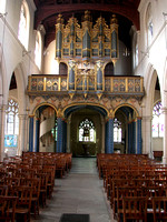 Interior View All Saints Church Carshalton Surrey