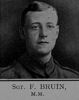 Bruin F Sergt MM 6th London Regiment Cast Iron Sixth - Captain E G Godfrey 1938