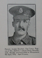 Baldwin A Pte 6th East Lancs Regt Craven Roll Of Honour