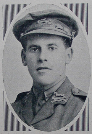 UK Photo Archive: W &emdash; Wooler H S 2nd Lt West Yorks Regt Sphere 3.6.16