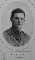 Battye J 2nd Lt 5th Yorks Regt Lloyds Bank Memorial Album