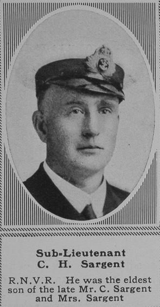 UK Photo Archive: S &emdash; Sargent C H Sub Lt RNVR The Sphere 27th Apr 1918