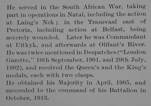 UK Photo Archive: A &emdash; Alexander R Lt Col 3rd Rifle Brigade Obit Part 2 Bond Of Sacrifice Vol 1