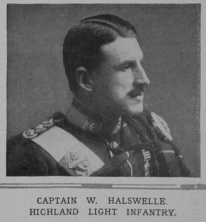 UK Photo And Social History Archive: H &emdash; Halswelle W Captain Highland Light Infantry The Illustrated London News 17th April 1915