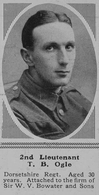 UK Photo Archive: O &emdash; Ogle T B 2nd Lt 2nd Dorset Regt The Sphere 29th Apr 1916