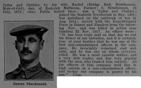 MacDonald J Sergt 204806 4th Seaforth Highlanders Obit Part 2 De Ruvignys Roll Of Honour Vol 4