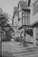 The Entrance To Leicester Hospital Warwick c.1925