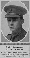 Venner E W 2nd Lt 3rd R West Kent Regt The Sphere 30th June 1917