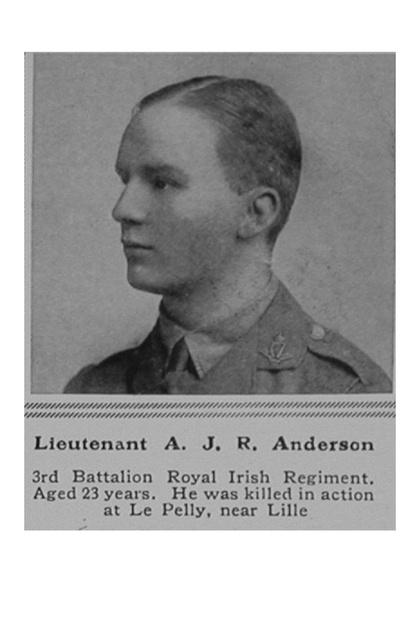 UK Photo Archive: A &emdash; Anderson A J R Lt Royal Irish Regiment-1