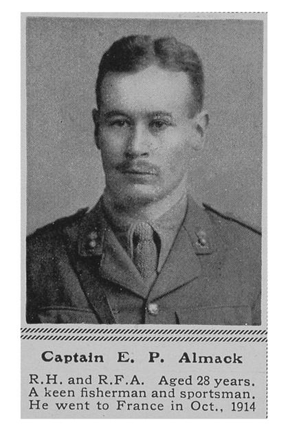 UK Photo Archive: A &emdash; Almack E P Captain RHA The Sphere 4th Mar 1916