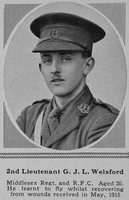 Welsford G J L 2nd Lt RFC The Sphere 6th May 1916