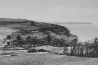 Luccombe Down And Bay Isle Of Wight