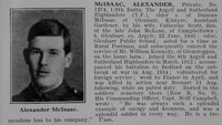 McIsaac A Pte 8th A & S Highlanders Obit De Ruvignys Roll Of Honour Vol 2