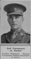 Parker A 2nd Lt London Regt The Sphere 26th Jan 1918