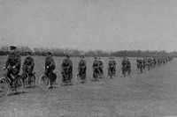 The Kent Cyclist Battalion At The Front