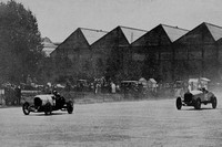 F C Clement Passing Woolf Barnato Brooklands 1921