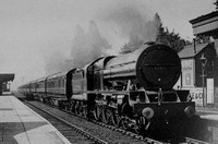 No 6139 Ajax Through Bushey c.1955