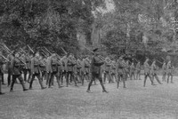 Inns Of Court Officer Training Corps Instructed At Slow March