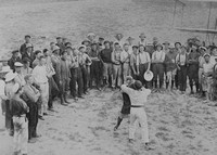 A Boxing Match At The Dardanelles