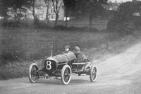 W O Bentley Driving In The T.T. Race 1914