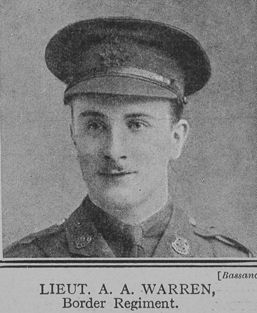 UK Photo And Social History Archive: The Great War Vol 8 &emdash; Warren A A Lt 8th Border Regiment The Great War Vol 8
