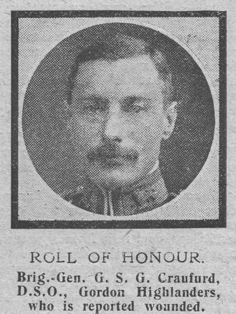 UK Photo Archive: The Graphic C &emdash; Craufurd G S G Brig Gen DSO 2nd Gordon Highlanders The Graphic 7th Oct 1918