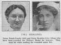 Allsop B A Sister MM The Graphic 5th Sep 1916